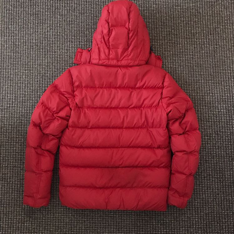 Tommy Hilfiger Red Puffer jacket Other0