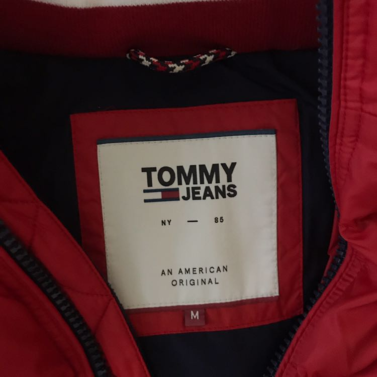 Tommy Hilfiger Red Puffer jacket Other1