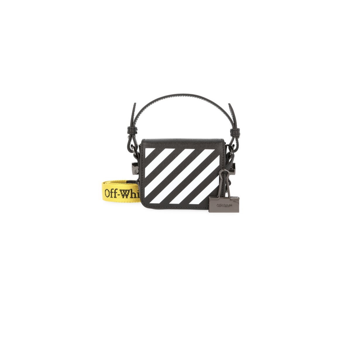 Off White Diag Baby Flap Bag Brand New Off-White3