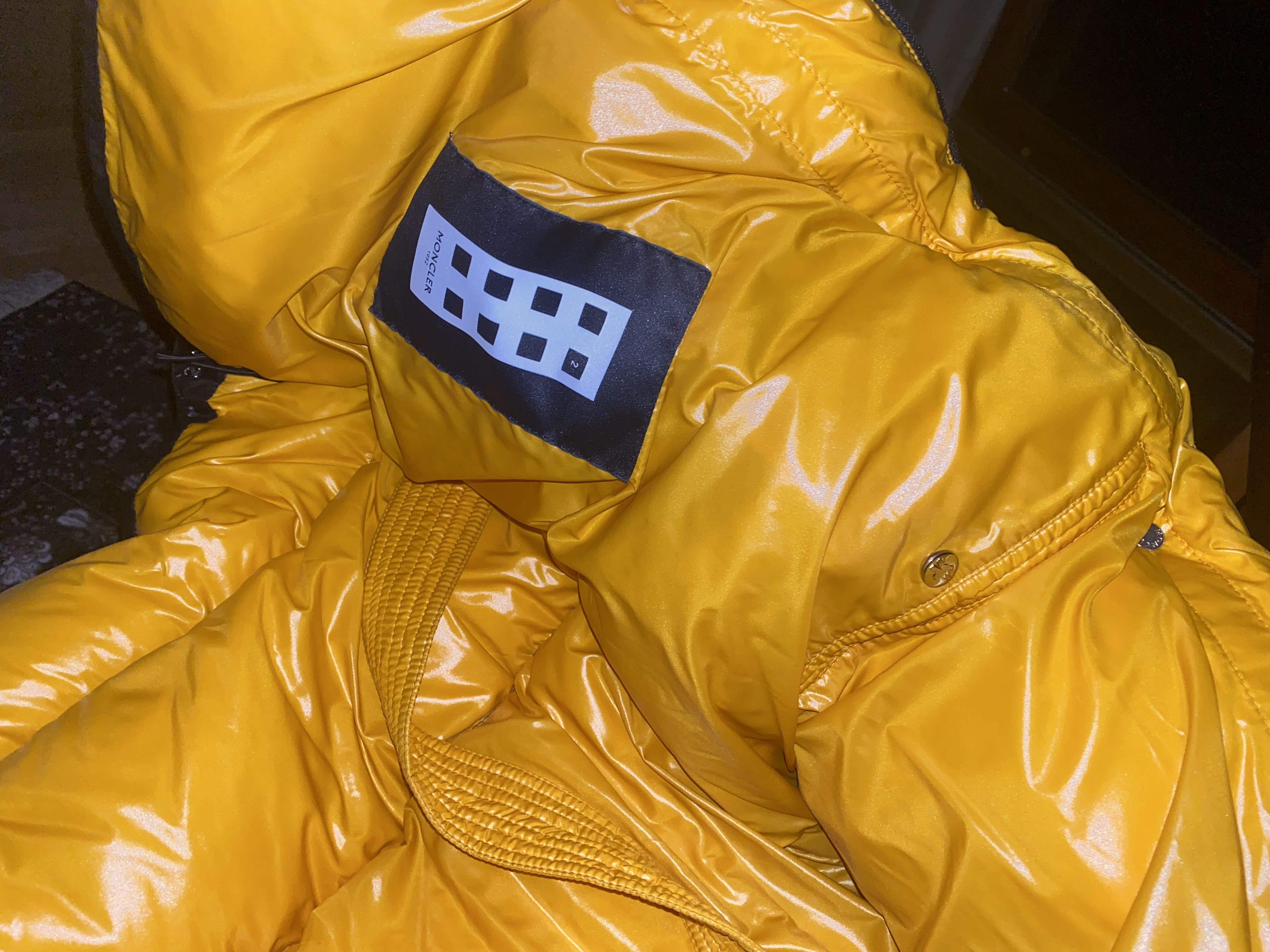 2 Moncler 1952 Quilted Glossed-Shell Down JacketMoncler2