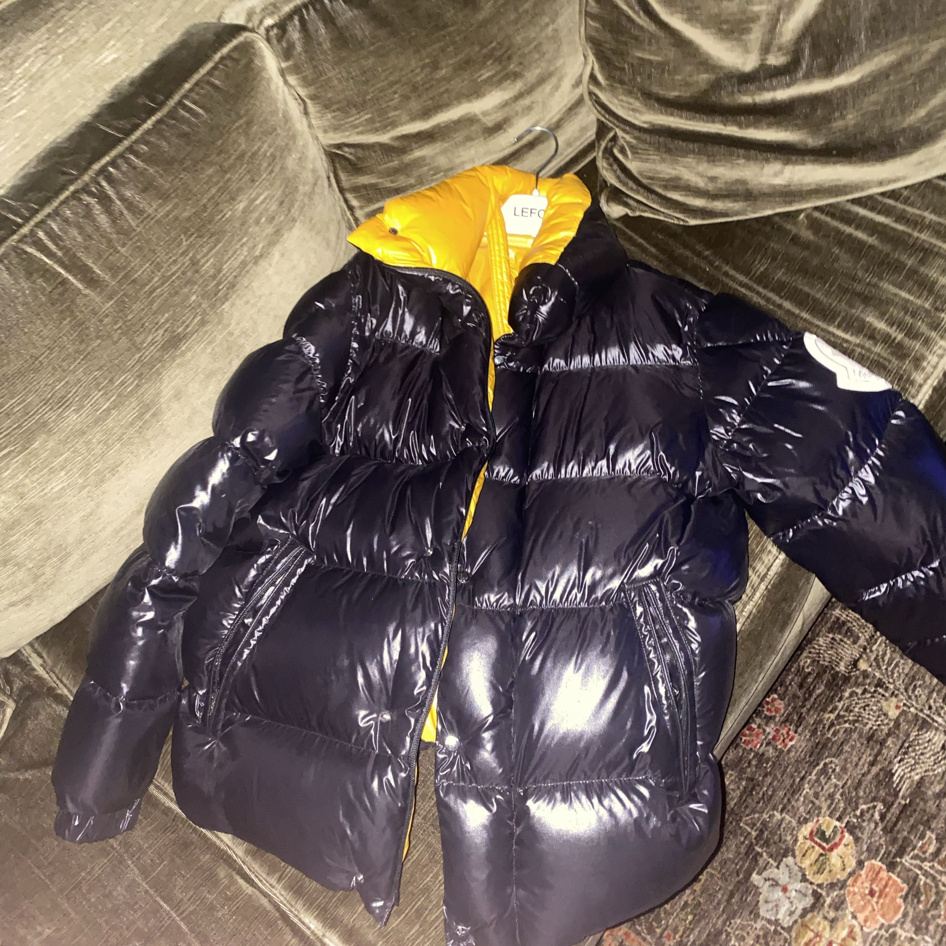 2 Moncler 1952 Quilted Glossed-Shell Down JacketMoncler4