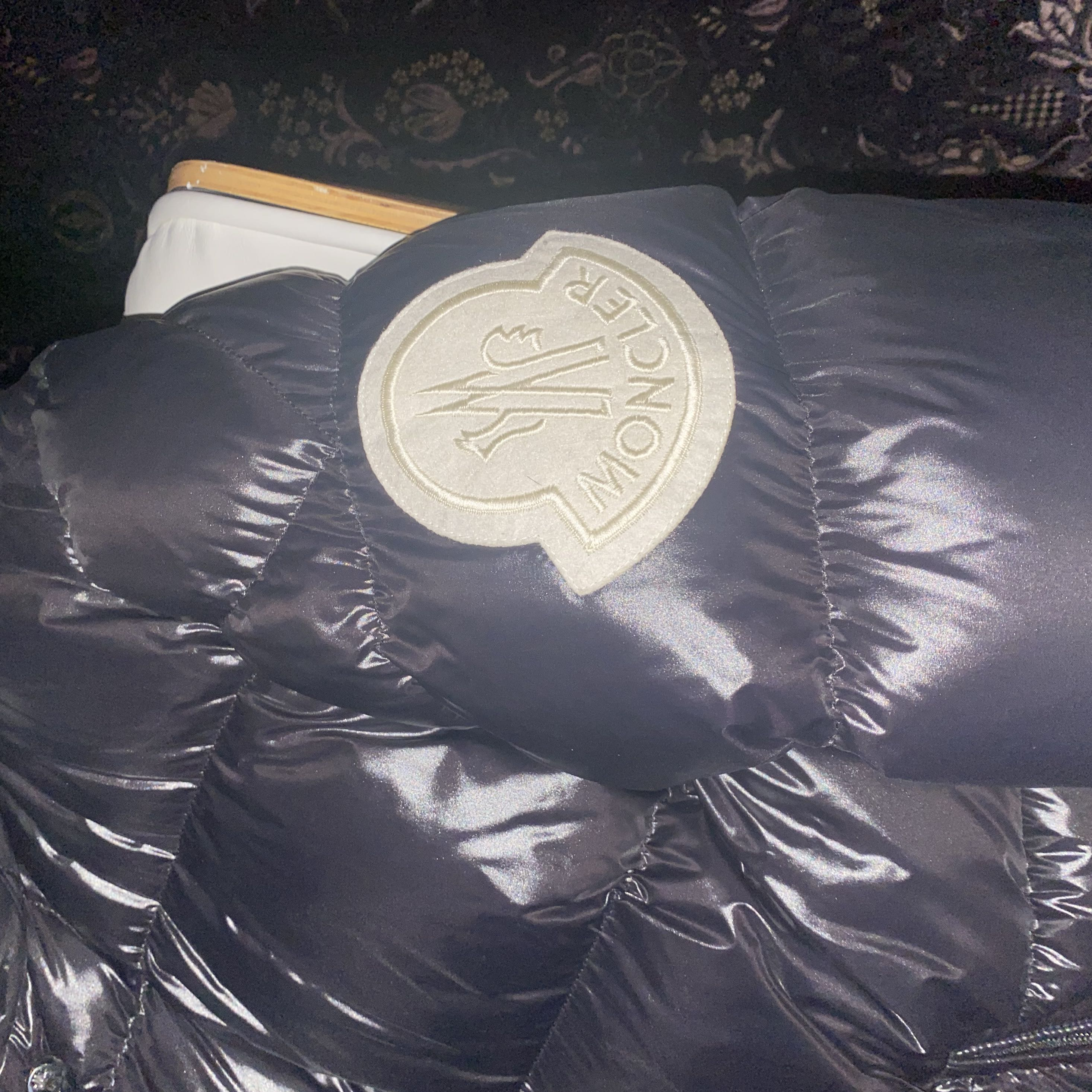 2 Moncler 1952 Quilted Glossed-Shell Down JacketMoncler3