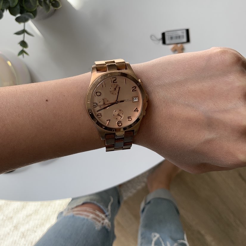 Marc Jacobs Henry Chronograph Rose Dial Rose Gold watch-36mmMarc Jacobs5
