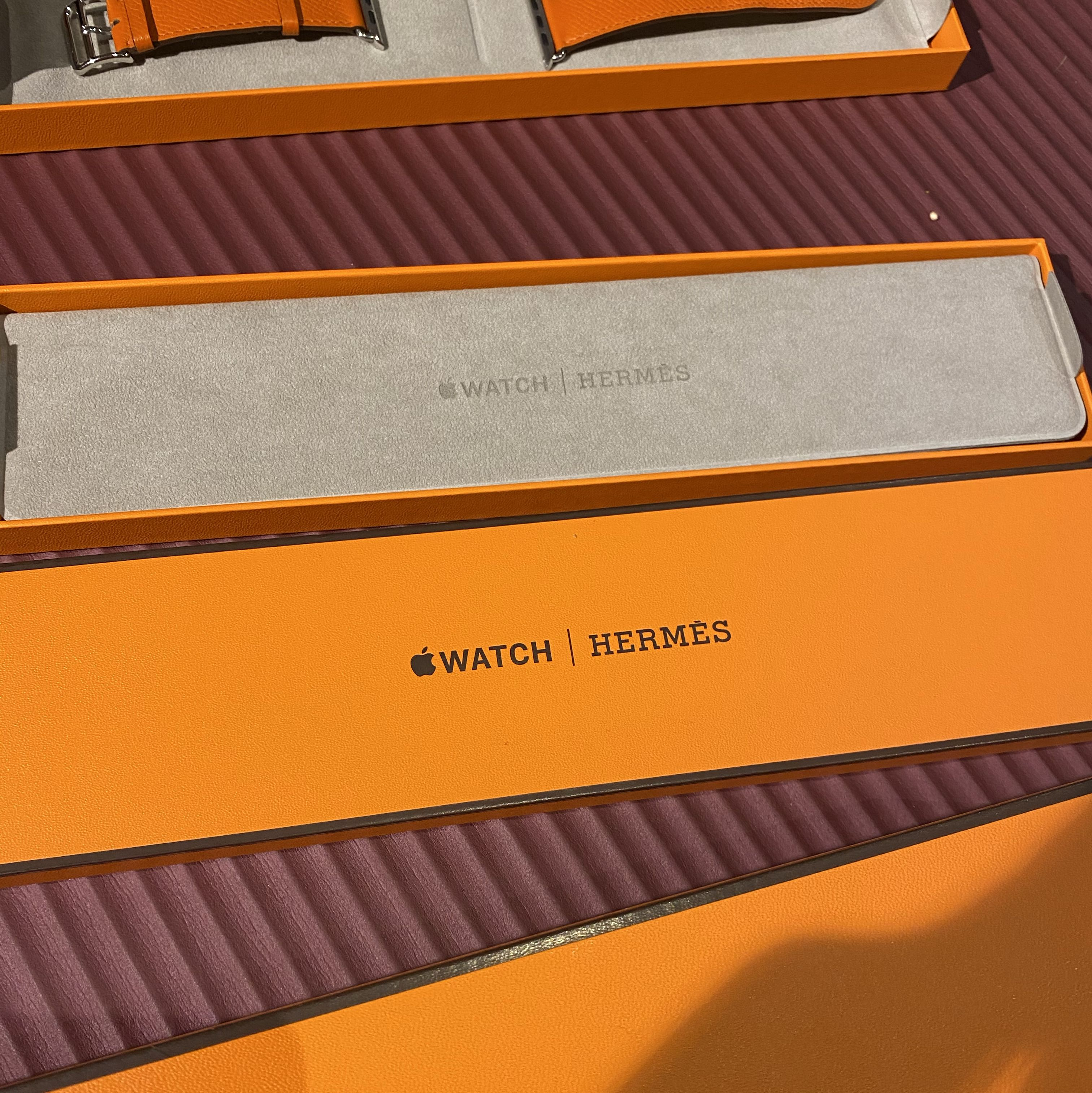 Brand new Apple Watch Hermes 44mm LTE Series 4 03/2021 used band Hermes4