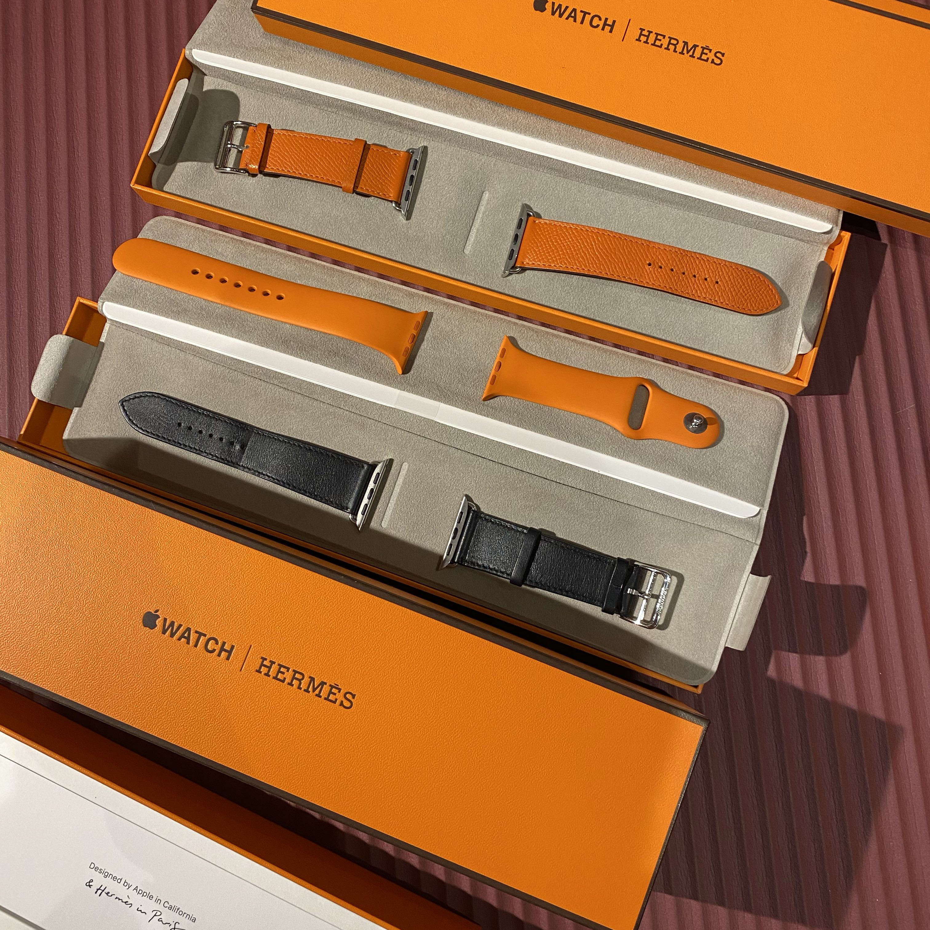 Brand new Apple Watch Hermes 44mm LTE Series 4 03/2021 used band Hermes5