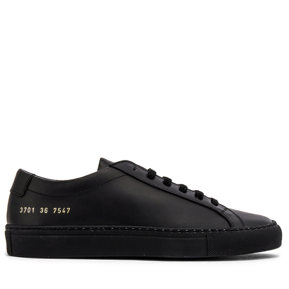 COMMON PROJECTS Original Achilles Low Sneaker BLACKCommon projects1