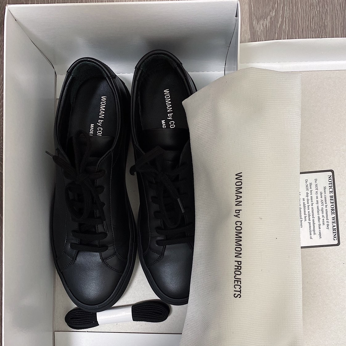 COMMON PROJECTS Original Achilles Low Sneaker BLACKCommon projects0